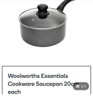 Cookware saucepan / pot 20 cm medium