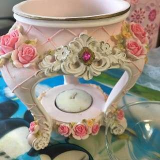 玫瑰花蠟燭台
