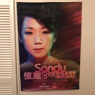 Sandy Lam 林憶蓮09年KL演唱會巨型海報