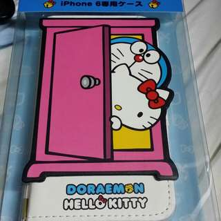 Hello Kitty X Doraemon IPhone 6 case