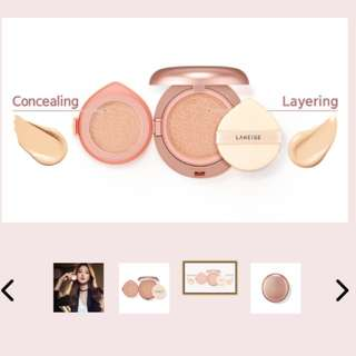 LANEIGE LAYERING COVER DUAL CUSHION, NATURAL