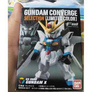For sale:Gundam coverge Gundam X(Limited Color)