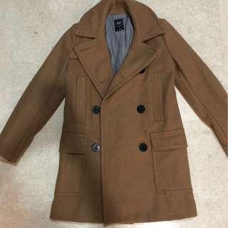 Gap wool brown winter coat