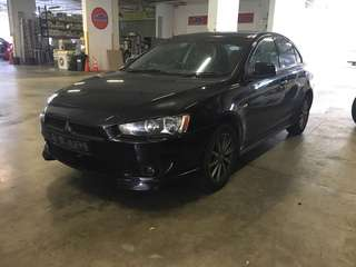 Mitsubishi Lancer EX 1.5A for rent Uber Grab