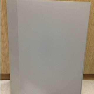 A3 size box file / A3 size file (灰色) 20 頁膠套