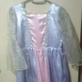 Rapunzel Costume/Dress (pink, purple and gold)