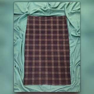 Top Shop Tartan Skirt