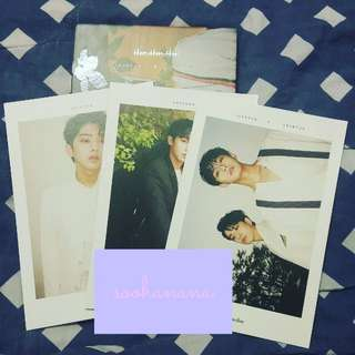 [WTS/MY] ONLY  LONGGUO & SIHYUN 1ST ALBUM THE.THE.THE