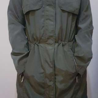 Jacket parka pull & bear