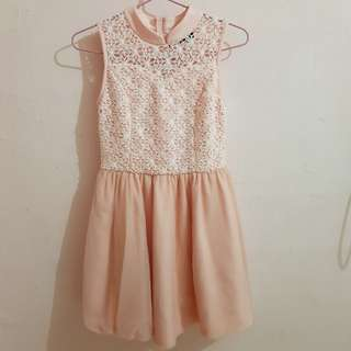 TCL Peach Dress