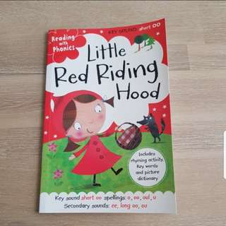 Little red riding hood story book