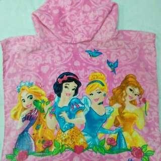 Disney Princess Kids Hooded Towel