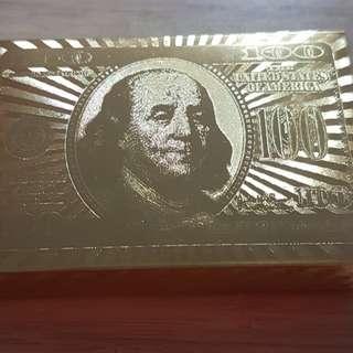 发发 golden poker cards