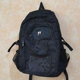 Backpack / Ransel Hitam Unisex