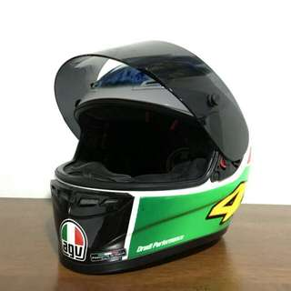 AGV GP Tech Rossi Summer Test