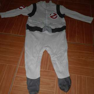 Ghost buster costume