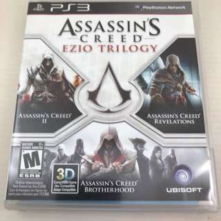 PS3 Game - Assasin's Creed Ezio Trilogy