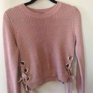 Bardot Pink Sweater