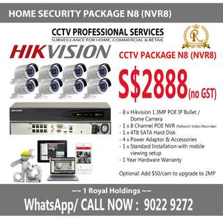 Office CCTV Package N8