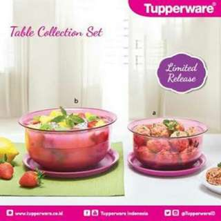 Table Collection set Purple