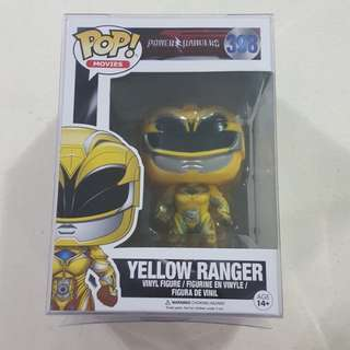 Legit Brand New With Box Funko Pop Movies Power Rangers Yellow Ranger