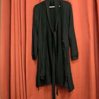 3 layered cotton coat / parca