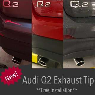Exhaust Tip for Audi Q2 *Free installation*