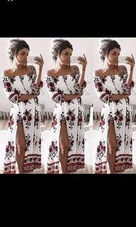 Long dress Boho