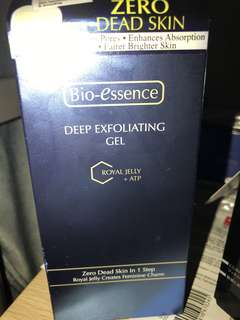 Bio Essence deep exfoliating gel toyal jelly with ATP 60g