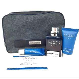 Exclusive SIA First Class Travel Amenity Kit
