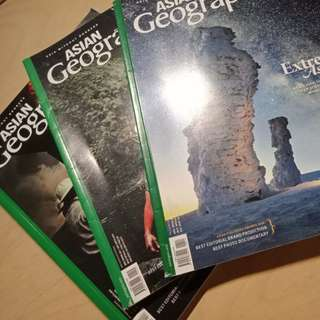 Asian Geographic Magazine Set of 3