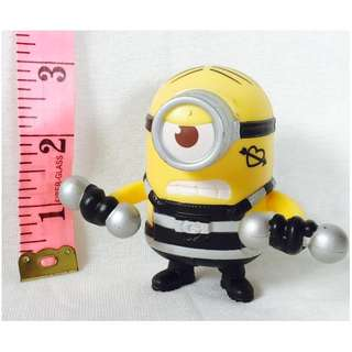 Minion with Dumbbells