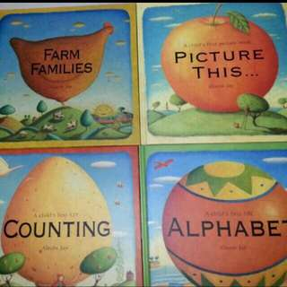 Bn 4 Bigger Alison Jay's Story Time Collection Counting Alphabets Farm Families Hardcover Books For The Young (Tag Mum Dad Nursery Milk Toddlers Age Toys Train Elc )