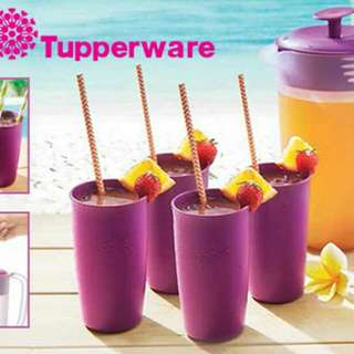 Beverage set tupperware