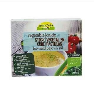 有機低鹽蔬菜上湯粒