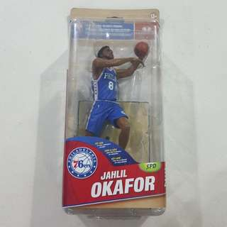 Legit Brand New Sealed McFarlane NBA Jahlil Okafor Philadelphia 76ers Series 28 Toy Figure
