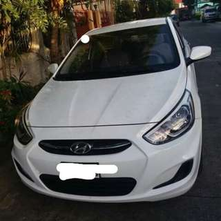 HYUNDAI ACCENT 2015 GRAB READY WITH PA
