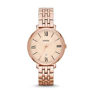 [OFFER] Fossil Women Watch - Rose Gold Watch