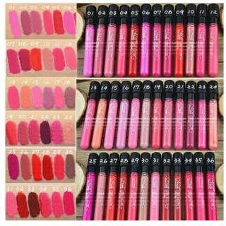Menow Liquid Lipstick