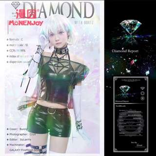 Houseki no kuni Diamond/Dia Fashion Cosplay [PO]