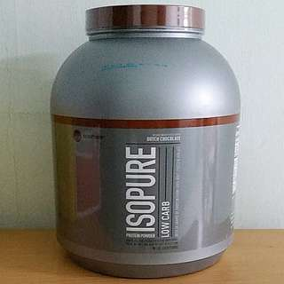 Isopure WHEY Protein Powder Low Carb Dutch Chocolate (4.5lbs/2.04kg)