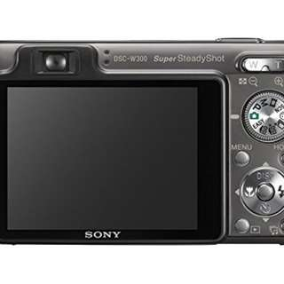 Sony W300 Camera with Underwater Housing