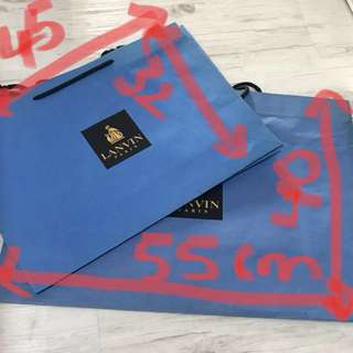 Authentic Branded designer paper bags