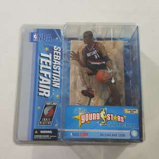 Legit Brand New Sealed McFarlane NBA Sebastian Telfair Young Stars Collectors Club Exclusive Toy Figure