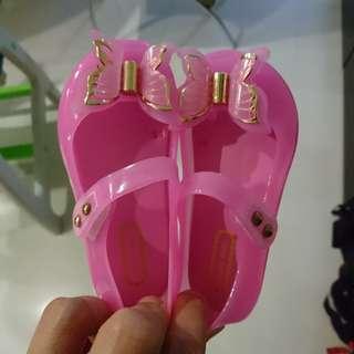 BNIB Girl's jelly shoe with flashing lights
