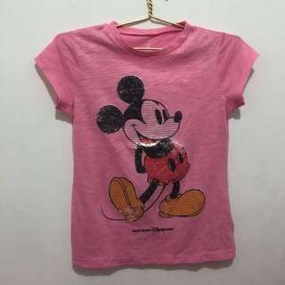 Pink Mickey Mouse Disney Land Hkg