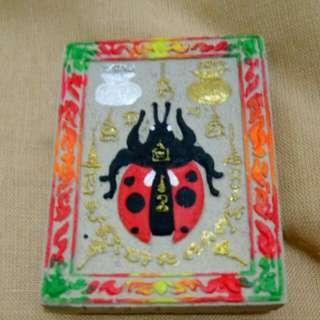 Kruba Apichat Ladybug Amulet