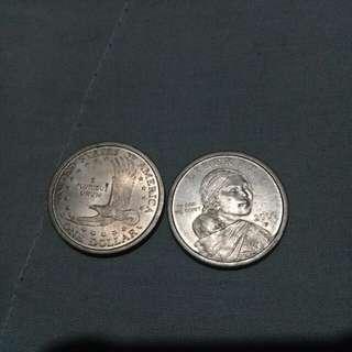 Sacagawea coin 2000p