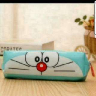 Instock Doraemon Pencil Case Size is 19 × 6cm