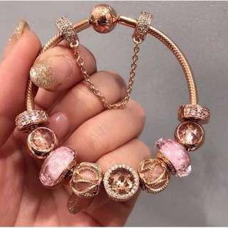 Pandora Rose Charm Bracelet
